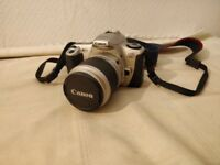 *CANON EOS 300 SLR film camera complete with 28-90mm lense