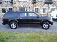 isuzu rodeo dubble cab pickup 4x4