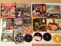 Job Lot of Super 8 mm cinefilms - or individuals - Walt Disney / Laurel & Hardy / Tom and Jerry more