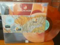 "Depeche Mode RARE Never Let Me Down Again German Import 12"" orange clear vinyl"