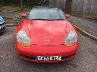 1999 Porsche Boxster 2.5 manual - low miles, very clean and cheap OVNO!