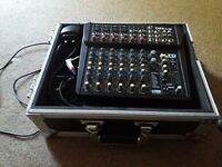 Alto zmx 122fx mixer And Flight Case