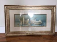 Spa framed Picture
