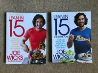 Lean in 15 Joe Wicks cookbooks x2