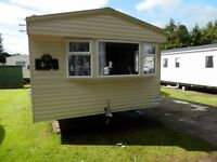 8 Berth Deluxe Caravan at Haggerston Castle for hire