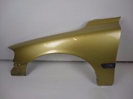 Volvo S60 01-07 Front Passenger N/S Wing In Gold 451-46 Ref 77016