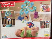 Fisher price unisex cot mobile