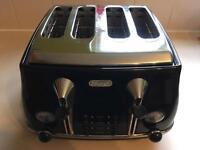 Delonghi 4 slice toaster