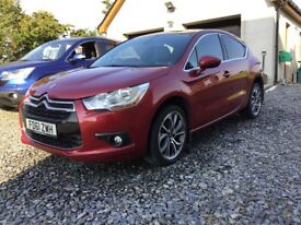 2012 Citroen ds4 d style 1.6hdi (focus,Astra,Leon,ceed,308)