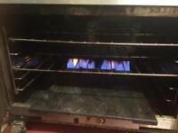 Commercial 6 range cooker