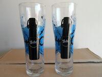 GROLSCH 400th ANNIVERSARY PINT GLASSES BOX OF 24 NEW