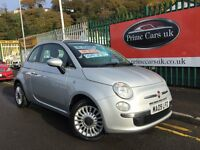 2009 09 Fiat 500 1.2 Lounge 3 door 5 Speed Manual Petrol Immaculate!