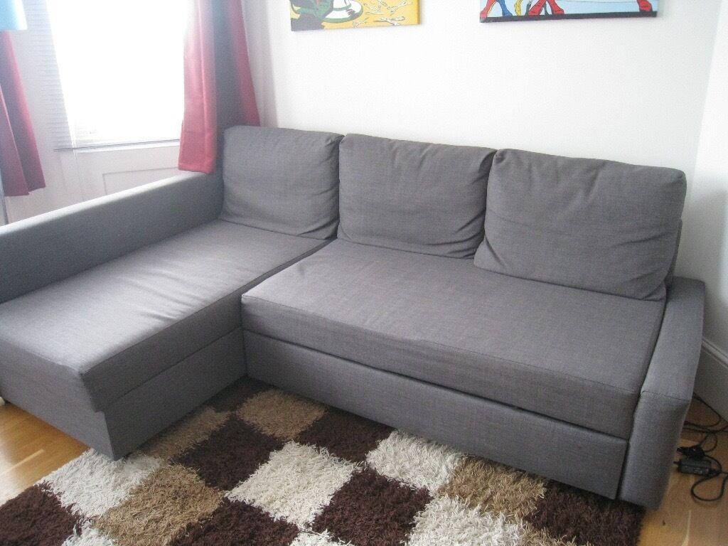 Ikea Friheten ikea friheten corner sofa bed with storage in skiftebo grey