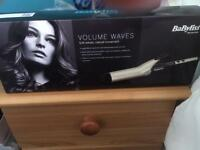 Babyliss volumiser curling tong