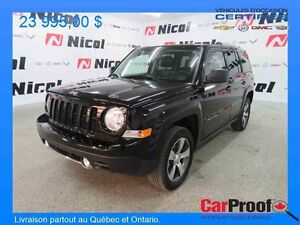 2016 Jeep PATRIOT 4WD HIGH ALTITUDE High Altitude High Altit