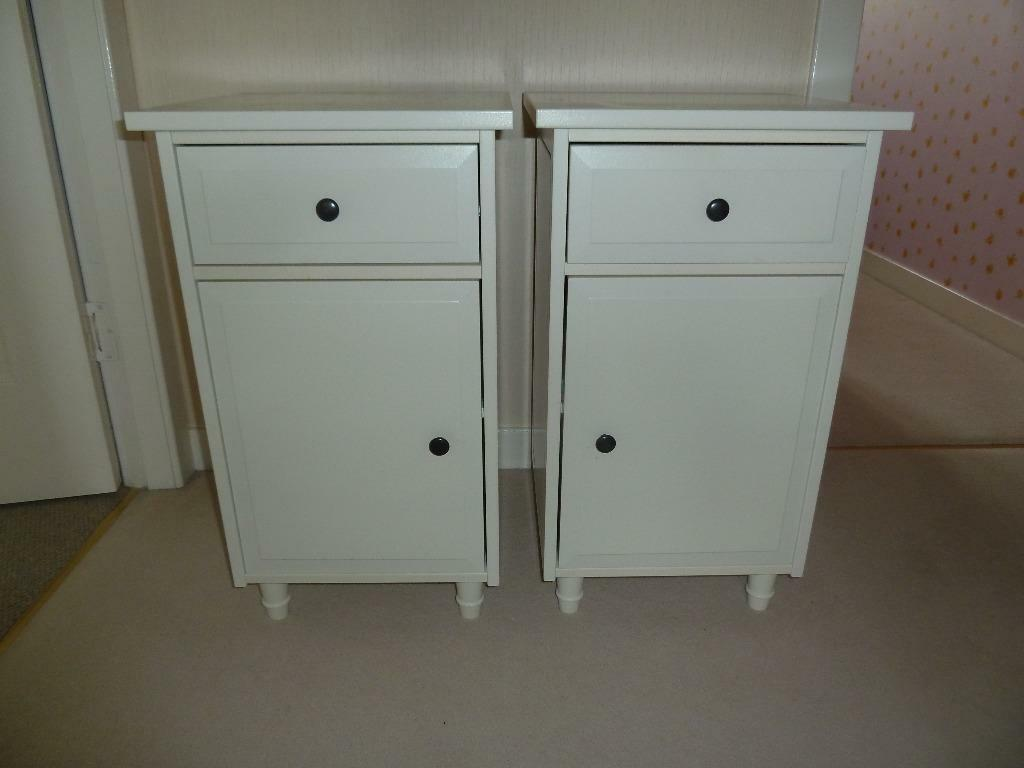 Ikea White Bedside Tables Buy Sale And Trade Ads