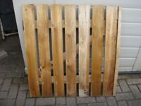Gate Wooden Gate sizes 34 inches square with Lock & Hinges BARGAIN