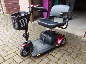 MOBILITY SCOOTER IN ROYAL BLUE OR RED - YOU CHOOSE - REDUCED PRICE!!!