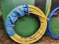 MDPE Yellow Gas piping 55mm