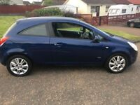 2009 Vauxhall Corsa Design, 3 Door, Petrol, Manual, 12 months MOT, super low miles and very clean