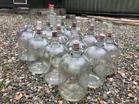 12 X Demijohn bottles