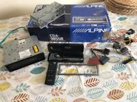Alpine car stereo CD / MP3 / WMA Receiver - CDA-9855R