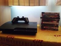 Sony Playstation 3 Console + 11 Games