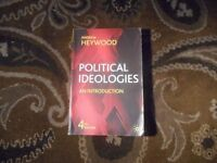 Political Ideologies 4th edition, Andrew Heywood