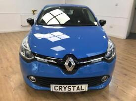 RENAULT CLIO 0.9 DYNAMIQUE MEDIANAV ENERGY TCE S/S 5d 90 BHP TO (blue) 2014