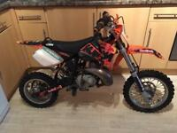 KTM 50 pro liquid cooled