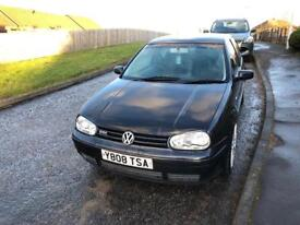 Volkswagen Golf GTI 2001 1.8 20v turbo spares and repairs