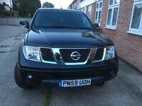 Nissan Navara 09 59 plate