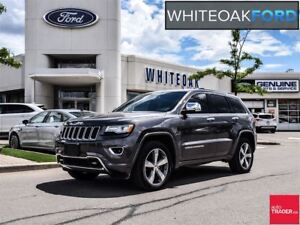 2015 Jeep Grand Cherokee Overland, DIESEL, NAVI, LEATHER