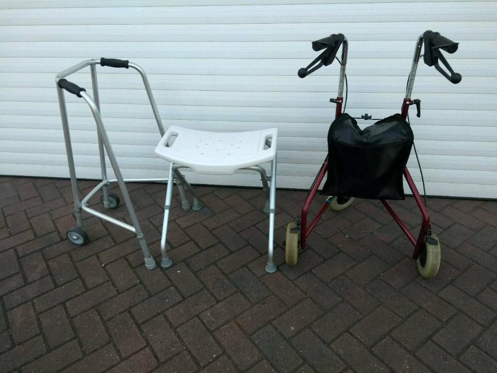 Mobility walker,walking frame and shower stool | in Sutton Coldfield ...