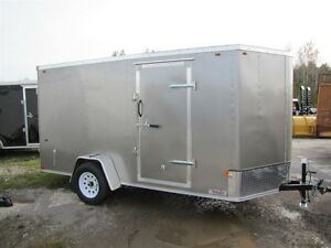 2016 Interstate 6x10 V-NOSE CARGO TRAILER SFC6X10SAFS