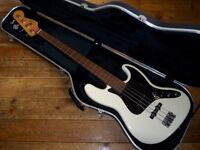 Fender USA Standard Jazz bass lined fretless 1999