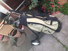 Ladies Complete Golf Club Set bag and Trolley