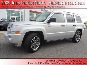2009 Jeep Patriot North à partir de 45$/sem 100% approuvée