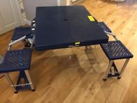 Folding picnic table and chair