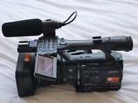 Sony HVR-Z7E HD Camcorder and accessory pack