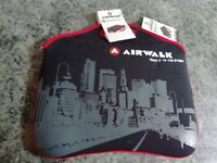 """New With Tags Airwalk Laptop Case 14-15"""" With Strap"""