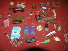25 Key Rings And Some Badges Some Unusual Ones Weymouth Free Local Delivery