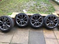 """Vxr 19"""" alloy wheels"""