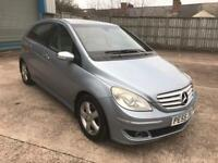 mercedes b180 cdi se 2006 55 plate diesel panramic glass roof leather seats service history 142k mot