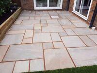 Premium Natural Autumn Indian Sandstone Paving Slabs | Garden Patio | 19m2 Pack