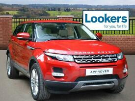 Land Rover Range Rover Evoque SD4 PURE TECH (red) 2013-07-19