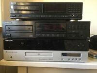 Selling 2 cd stack system / 2 DVD players . Cheap