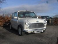 ROVER MINI SEVEN IN RARE OLD ENGLISH WHITE. MOT 2019. HISTORY