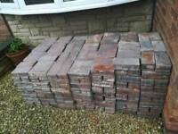 Bricks from driveway