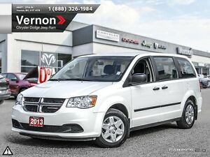 2013 Dodge Grand Caravan CVP ONE OWNER | AUX-IN